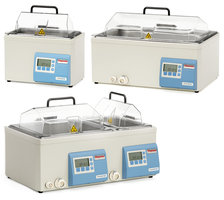 Water bath precision series GP 10, 10 l, incl. transp. lid