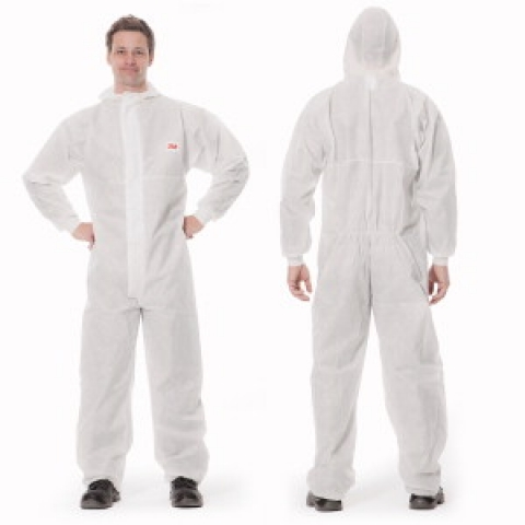 3M-protective suit, type 5/6 series 4545, size S