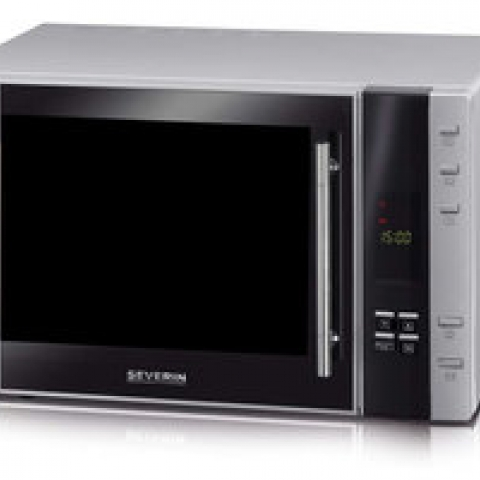 Microwave oven w. grill- /hot air funct. 5 power stages, ca. 30 l, ca. 900 W