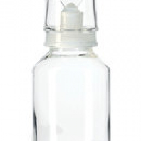 Acid bottles with cap, brown glass 500 ml, NS 24/20