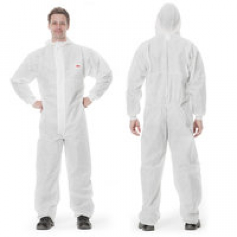 3M-protective suit, type 5/6 series 4510, size S