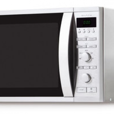 Microwave with grill/hot air function 5 power stages, approx. 40 l, 900 W