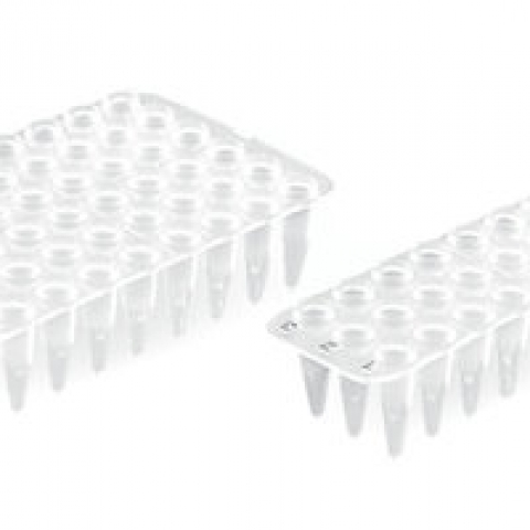 384-well PCR trays with complete rack